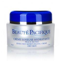 Beauté Pacifique enriched moisturizing creme dry skin, krukke 50 ml