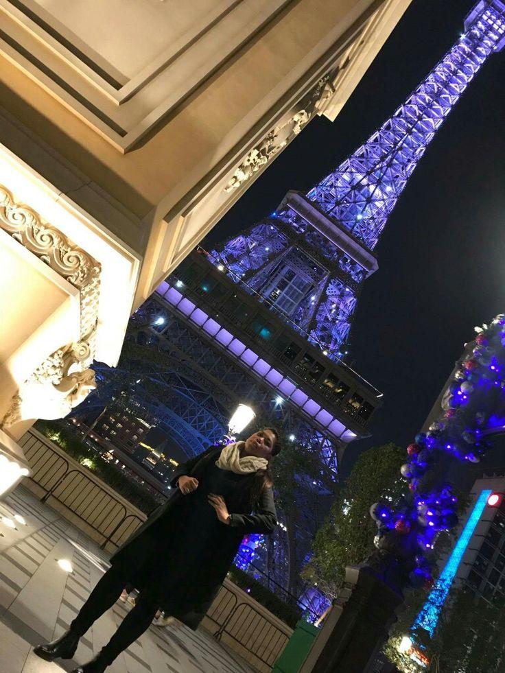 Macau The Parisian Hotel Eiffel Tower