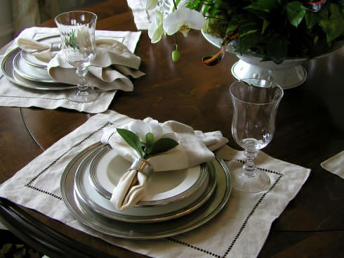 Tea Luncheon Table Setting | Sophisticated Edge