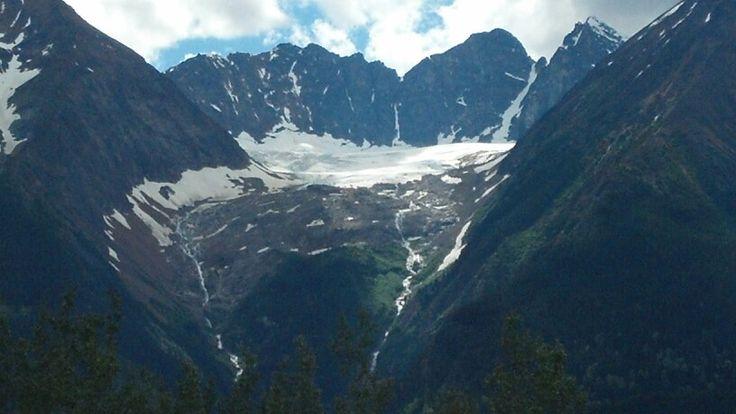Glacier near Smithers BC