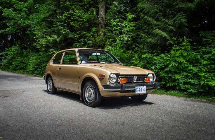 Pristine 1977 Honda Civic a cheerful little time machine