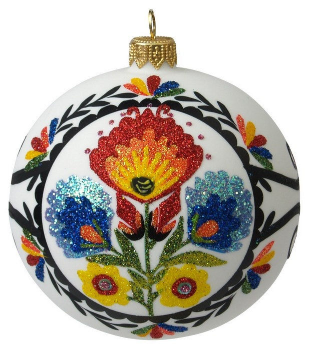 991 best images about polish slavic arts crafts folk for Painted glass ornaments crafts