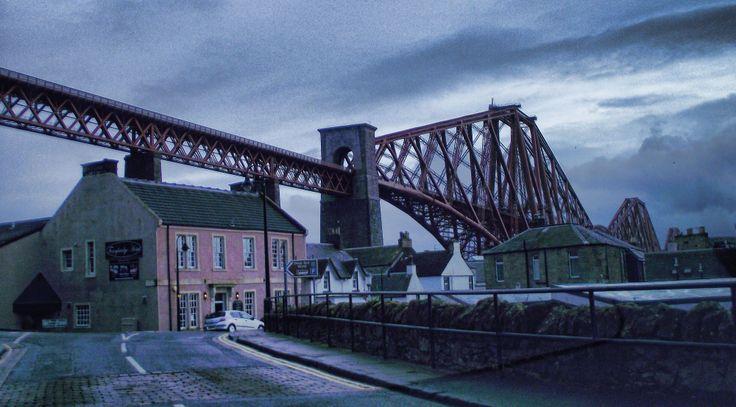 Edinburgh Forth bridge