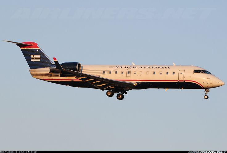 Bombardier CRJ-200LR, US Airways Express, N415AW, cn 7593. Louisville, United States, 28.2.2016.