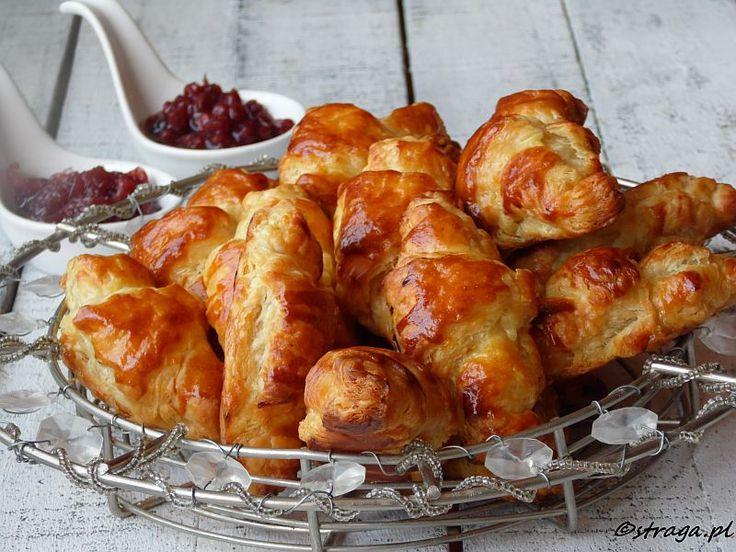 Croissant (rogaliki z ciasta francuskiego)