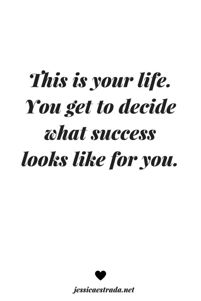 15 Questions for Defining Success on Your Own Terms | Click through to download your FREE workbook filled with thought-provoking questions that will help you define what success means to you--not everyone else. | Inspirational quotes about life | Motivational quotes about success | quotes to live by |