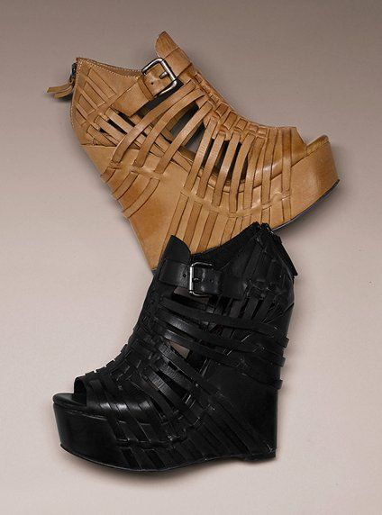 Caged Wedge Sandal....fabulous!
