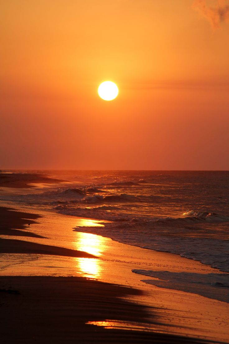 St George Island, Florida #orange #sunset #beach #LoveFL