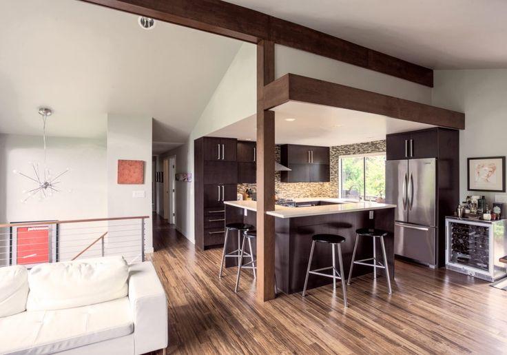 best 25 tri level remodel ideas on pinterest tri split tri level house and split level home. Black Bedroom Furniture Sets. Home Design Ideas