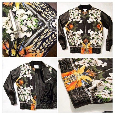Clothsurgeon Givenchy Leather RSMA-1 Jacket
