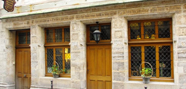 Maison de Nicolas Flamel: the oldest house of Paris