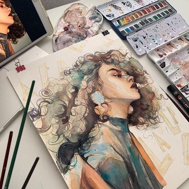 Art Painting People Pinterest Natashaorchison Instagram