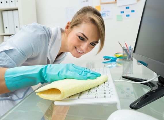 5 Useful Office Cleaning Tips
