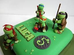 Resultado de imagen para tortas infantiles tortugas ninja