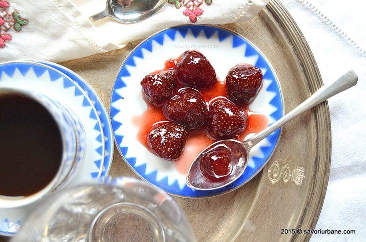 Dulceata de capsuni fara conservant reteta veche de familie. Care este diferenta dintre gem si dulceata? Dulceata de visine, capsune, zmeura, fragute, caise