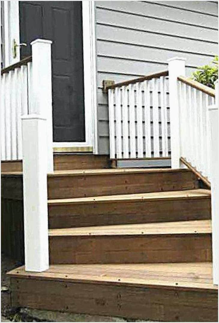Wooden Front Steps Design Ideas