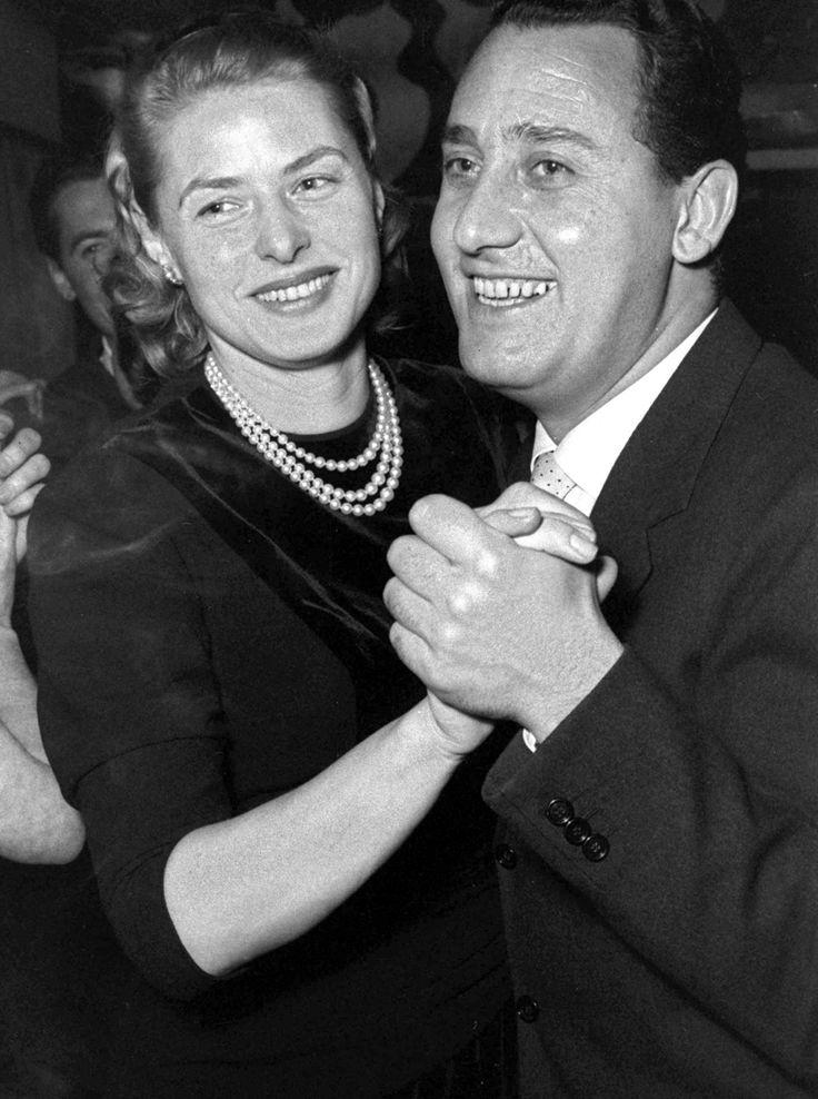 #Ingrid Bergman and #Alberto Sordi