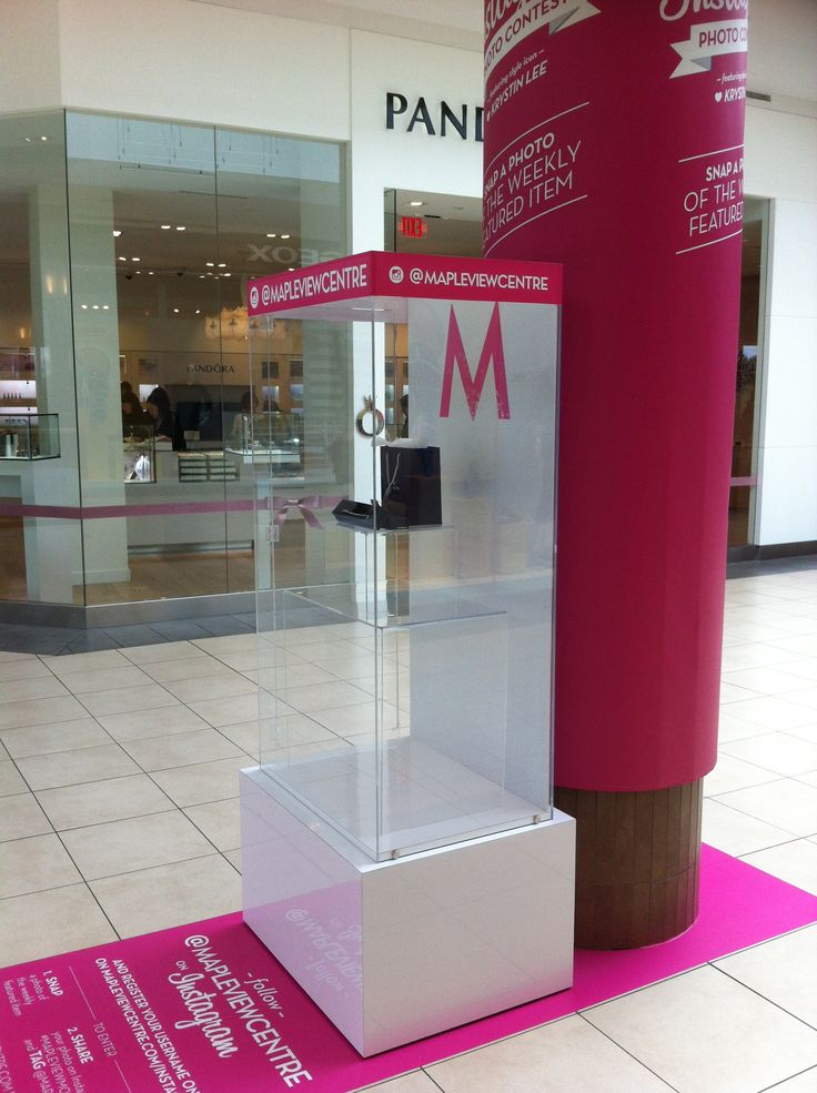 Acrylic Display Case: Designed, Built and Installed at Maple View Centre