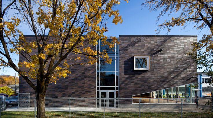 école René-Guénette – Héloïse Thibodeau Architecte