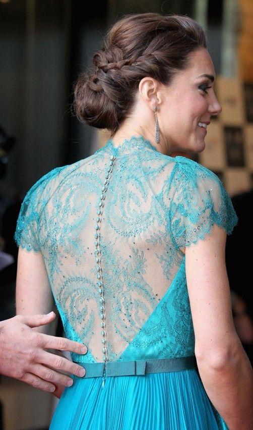 stunning dress + hair