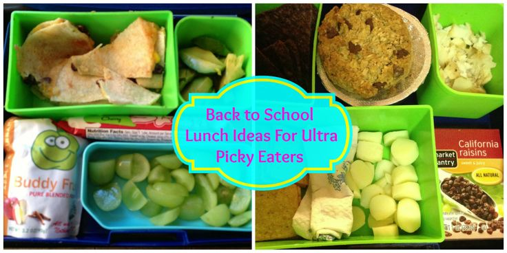 school lunch ideas for picky eaters pinterest crafts. Black Bedroom Furniture Sets. Home Design Ideas