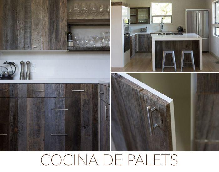 ideas diy decoration cocina palets