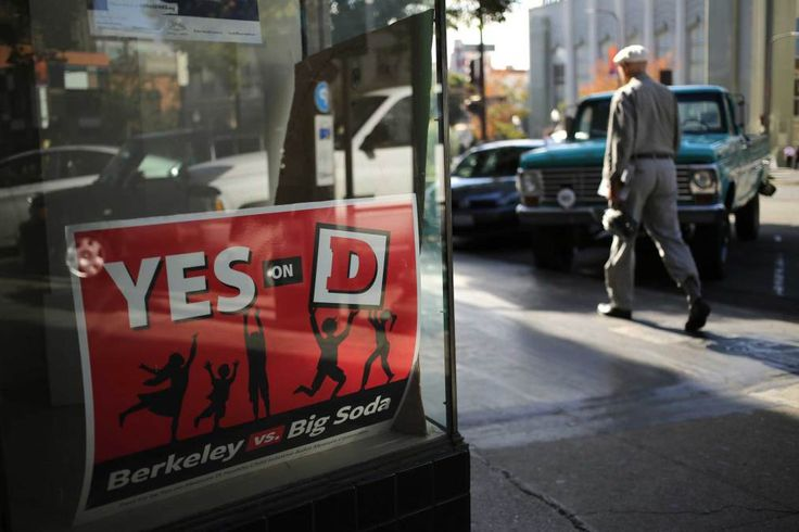 This article discusses the firstUS city to pass a soda tax that was voted into law in Berkeley, California in 2014.