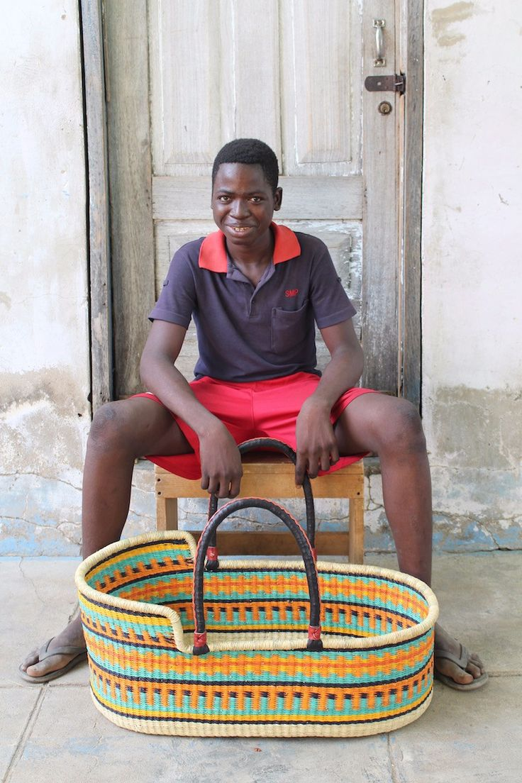 Baby Moses Basket by Philemon Akologo