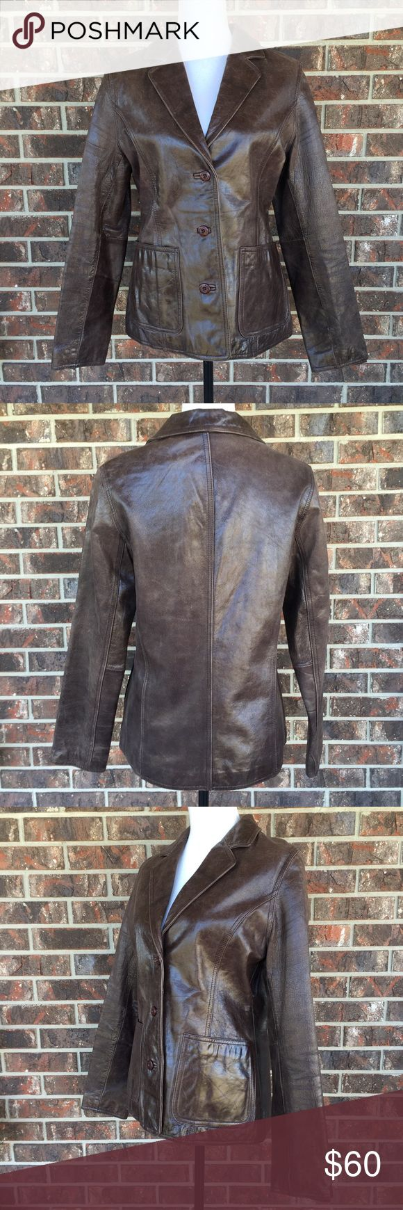 Vintage Wilson Leather Maxima Jacket (With images