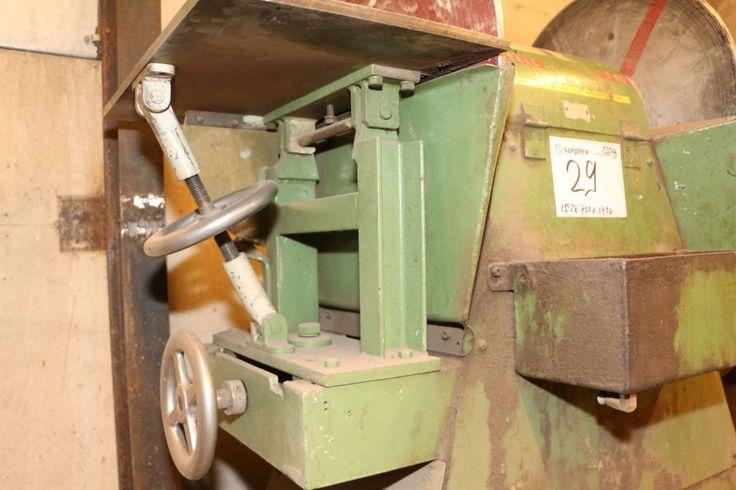 Tellerschleifmaschine: Gebraucht kaufen | surplex Auktionen