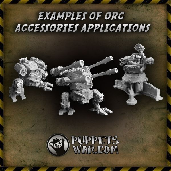 You can do some amazing things with Orc Little Turret.  https://puppetswar.eu/product.php?id_product=434