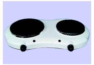 Ηλεκτρική εστία διπλή 1500watt διαμέτρου 18,5cm + 1000watt διαμέτρου 15cm για κατσαρόλα - τηγάνι < Ηλεκτρικές εστίες | Clevermarket.gr