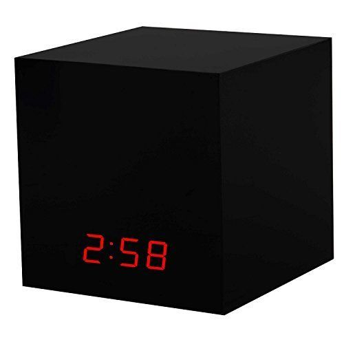 Hidden Nest Cam Enclosure – Dropcam Pro Indoor Nanny Camera Case by Dropcases (10.3cm x 10.3cm, Black) Nestcam Spy Clock Box, Drop Cam Baby Monitor – Completely Camouflaged and Undetectable