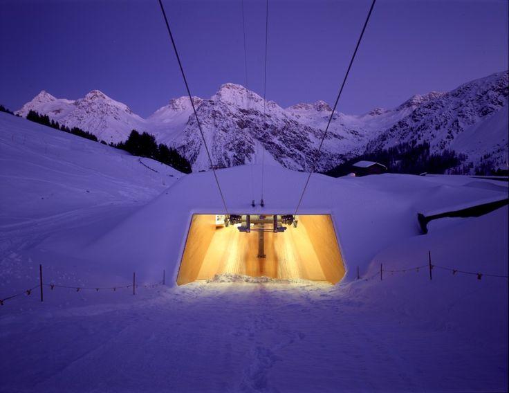 Carmenna-Sklilift, Arosa (GR) Schweiz