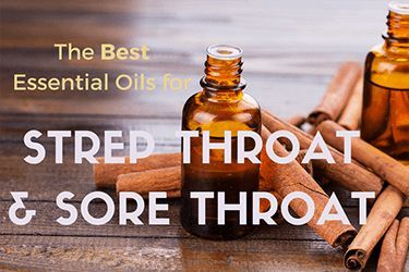 Get relief from strep throat and sore throat symptoms with essential oils, and find out how to treat strep throat naturally without antibiotics.