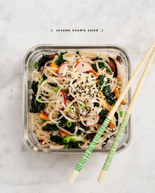 sesame noodle salad / loveandlemons.com: Salad Vegans, Noodle Salad ...