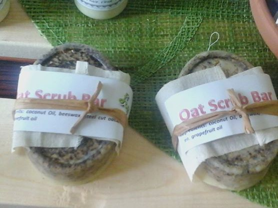 These Oat Scrub Bars are jam-packed with steel cut oats to help with exfoliation. And they moisturize at the same time. Can be purchased online or in store.