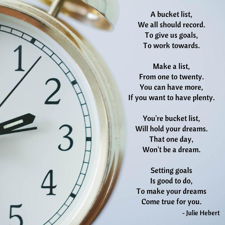 bucketlist poem inspiration inspiration pinterest