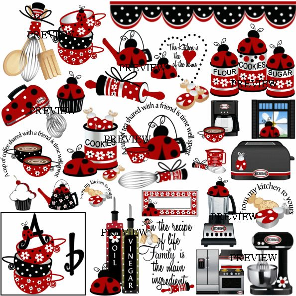 SALE! J.Rett Graphics - From The Kitchen Ladybug Digital Download,  (http://store-1xn8h3hs.mybigcommerce.com/from-the-kitchen-ladybug-digital-download/)