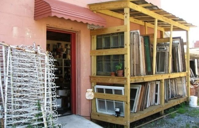 Great Places to Buy Architectural Salvage - Bob Vila. Architectural salvage storage