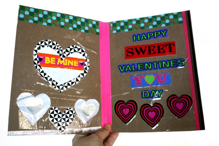 valentine's day cards diy pinterest