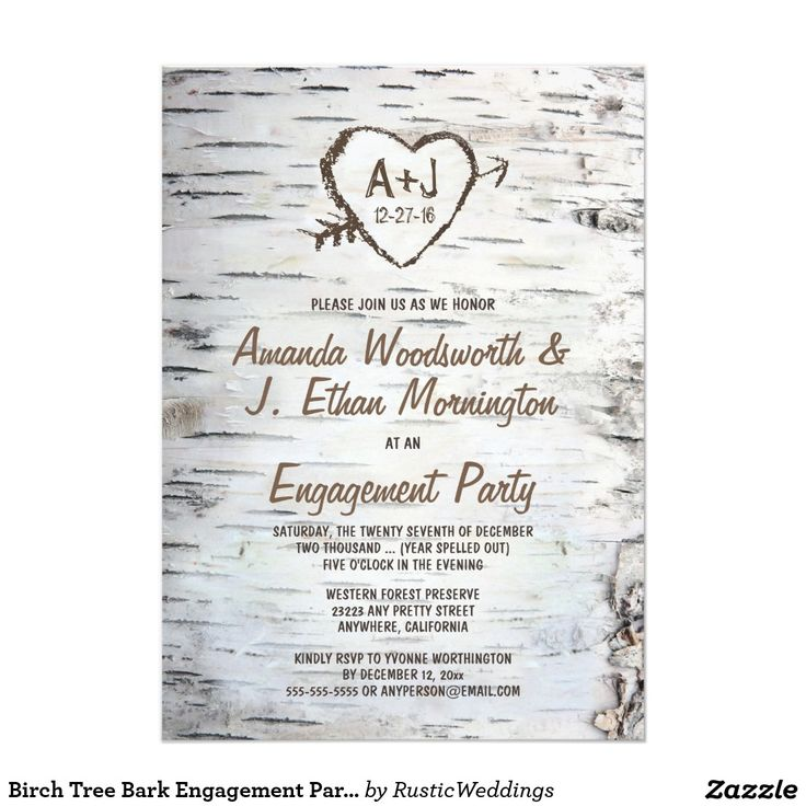 129 best TREE WEDDING Invitations images on Pinterest Engagement - engagement party invites templates