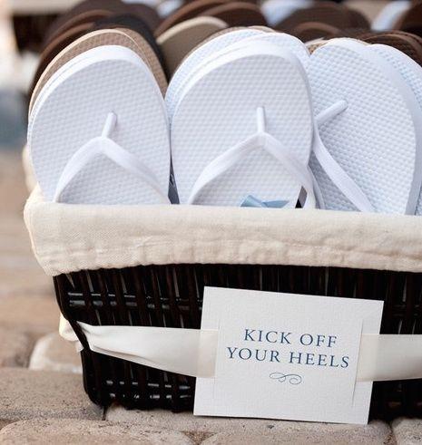 Wedding Flip Flops   Indeed Decor