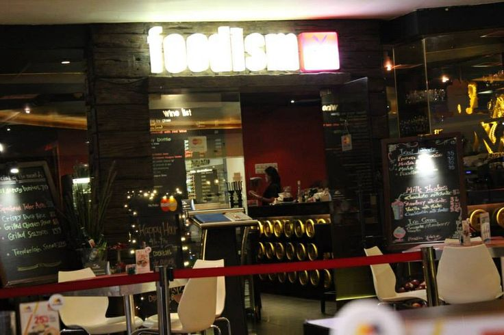 Cozy pleace in foodism senayan city mall LG Crystal Lagoon