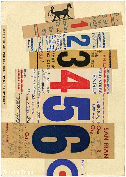 'Signals: no 9' by British artist Julia Trigg. Giclée, 400 x 560 mm, edition of 100. via the artist's site