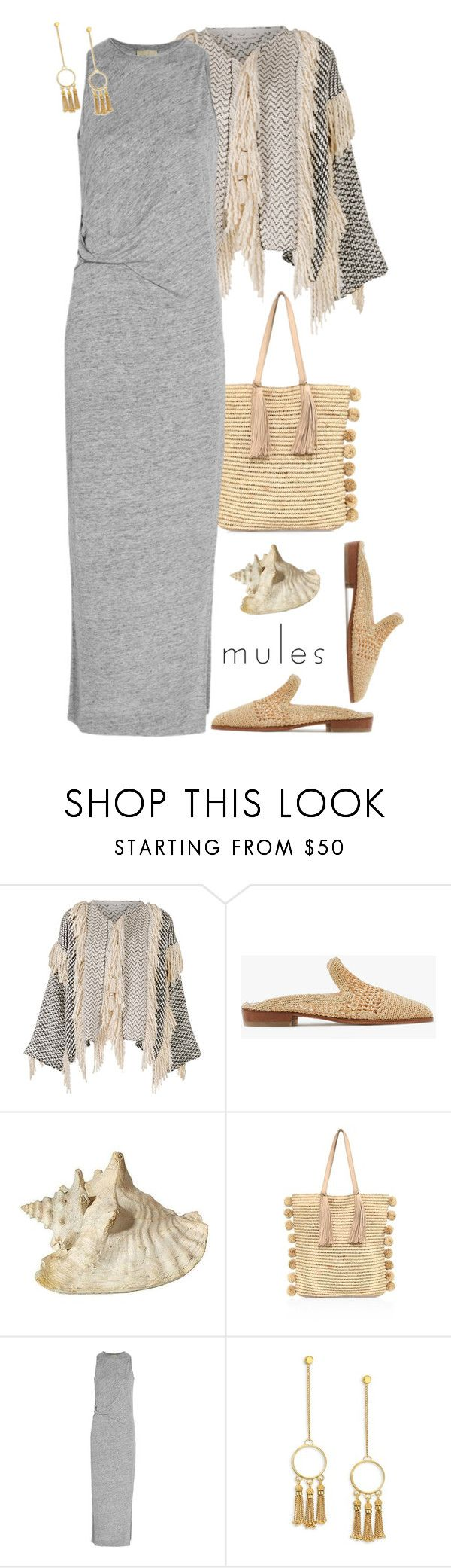 """Slip 'Em On: Mules'"" by dianefantasy ❤ liked on Polyvore featuring Ulla Johnson, Robert Clergerie, Loeffler Randall, By Malene Birger, Chloé, mules, polyvorecommunity and polyvoreeditorial"