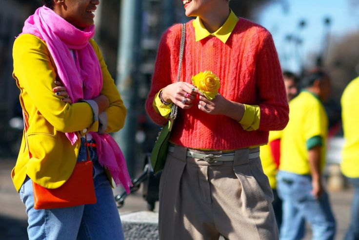 Streetstyle Neon Color - pictures, photos, images