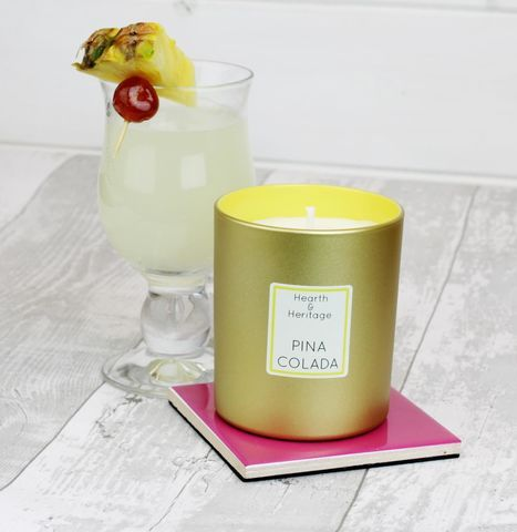 Pina Colada Scented Candle