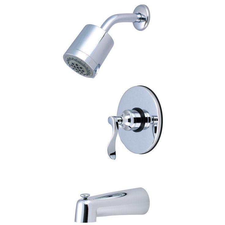 Kingston Brass  KB6691DFL NuFrench Tub & Shower Faucet - Price: $299.95 & FREE Shipping over $99     #kingstonbrass