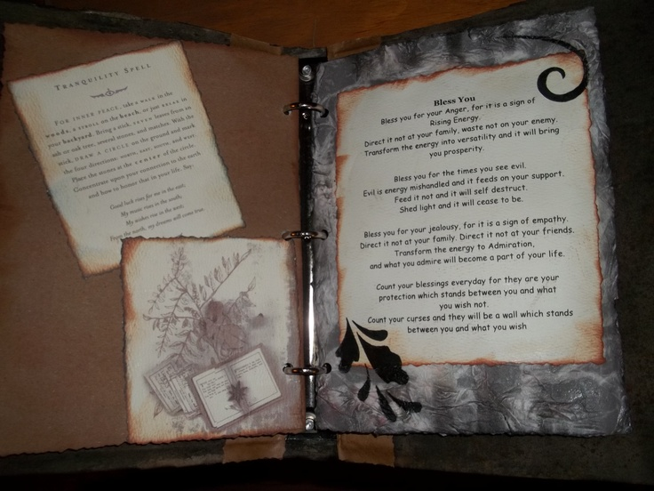 104 best Book of Shadows images on Pinterest Altered